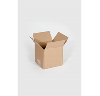 "Box, Corrugated, 12"" x 12"" x 12"", Single Wall, 200#/ECT-32,"