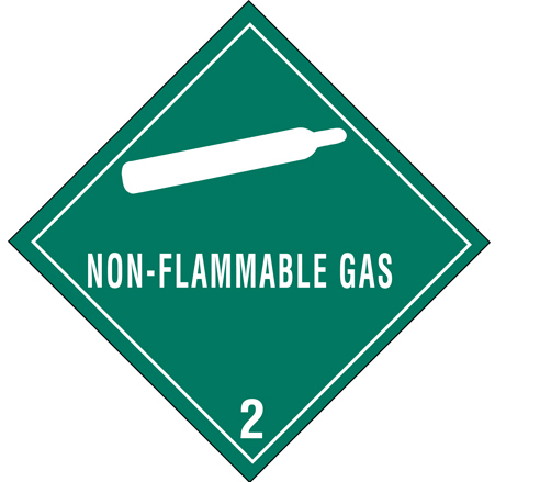 "Label,4x4,2"" non-flammable 500/roll, 864/skid"