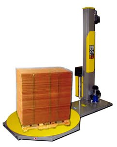 Workhorse - Semi-Auto Pallet Stretch Wrapper, Great