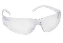 3M Virtua eyewear, clear, anti-fog lens, clear temples,