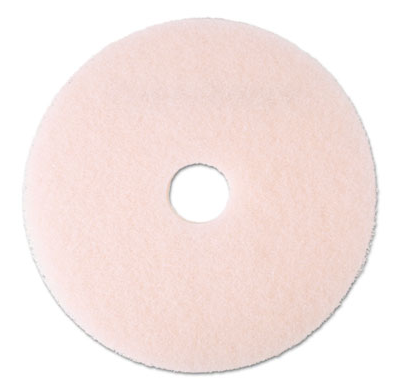 "Pad, 20"", Floor, 3M Eraser Burnish, Pink, 5/Cs"