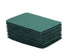Pad, 6X9, Green, Nylon, Hand Coarse, 10 Pads/Box, 6
