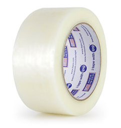 "Tape, Carton Sealing, 3"" x 1500 yds, 1.7 mil, Machine"