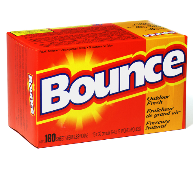 P&G Bounce Dryer Sheets 160ct Out door fresh 6box/cs,
