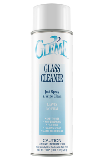 Glass Cleaner Non Ammoniated, 20oz cans, 12 cans per case