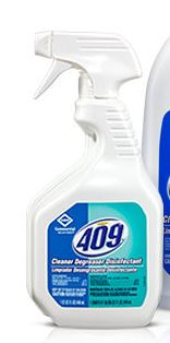 Cleaner, Degreaser w/ Disinfectant,Formula