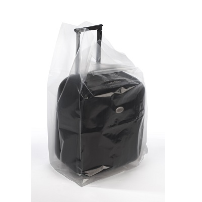 Poly Bag, 12X8X30, 3 Mil Clear, Gusseted, 250/Case