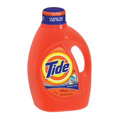 Detergent,Laundry,HiEfficiency Liquid Tide, Original Scent,