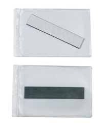 "Magnetic Vinyl Envelope, 4""x6"", 50/cs"