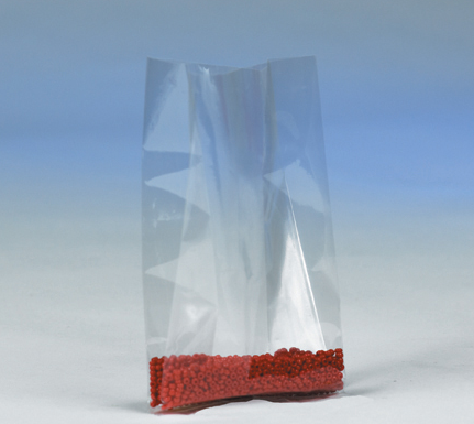 "poly bag, gusseted, 12""x12""x24, 3 mil, clear,"