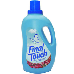 Fabric Softener,Fin.Tch,134oz 4/CS,Final Touch,Spring Fresh