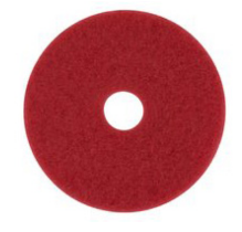 "Pad,Floor,18"" Red Buffer,5/cs"