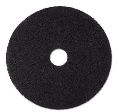 "Pad, 20"", Floor, 3M, Stripping, Black, 5/cs"