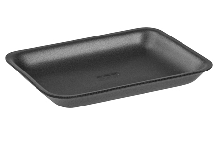 Foam tray, #3P MW black,