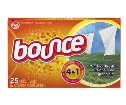 Bounce Dryer Sheets 15x25ct