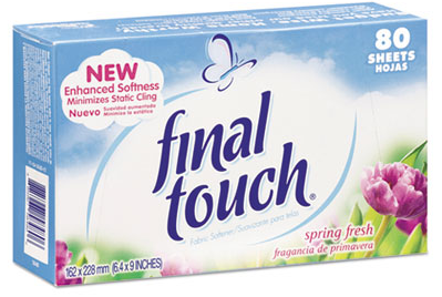 Fabric Softener, Final Touch 6 boxes/cs