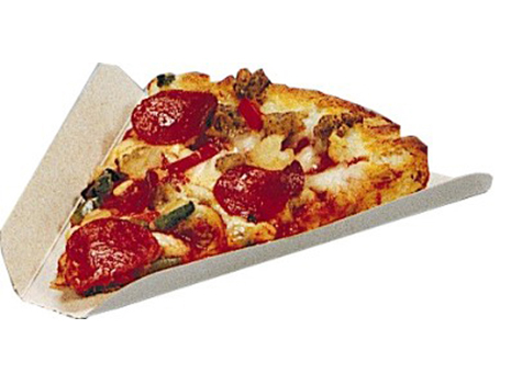 Pizza Carton Wedge, Personal