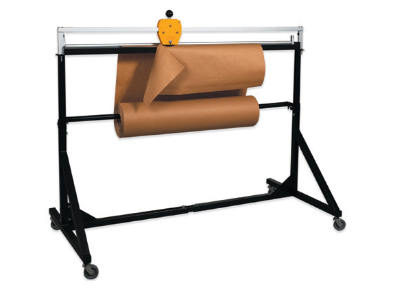 "Storage Stand, 50"", Holds roll up to 48"" wide"