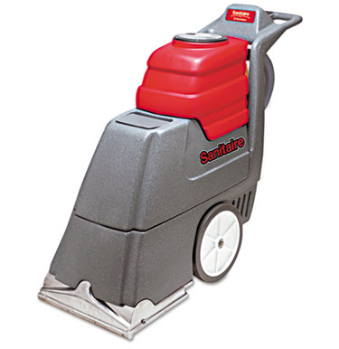 "Vacuum, Upright, Commercial, Sanitaire, 17"" wide cleaning"