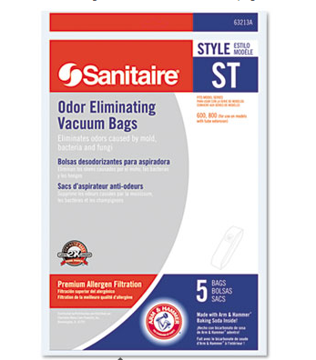 Vacuum Bag, Electrolux Sanitaire Disposable Bags,