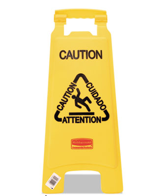 "Sign, ""Caution"", Yellow"